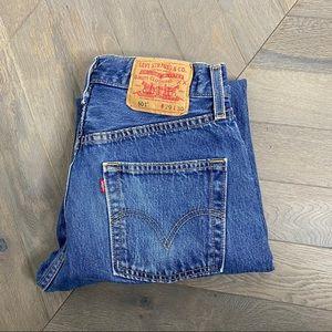 Vintage Levi's 501 90's Straight Leg Jeans